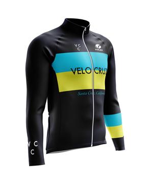Vcc Color Block Long Sleeve Black image
