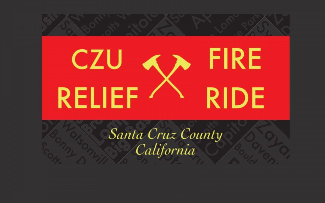 CZU Fire Relief Ride: 12.12.2020